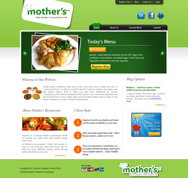 Home Page of Mothers