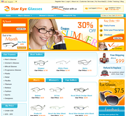 Star EYE Glasses