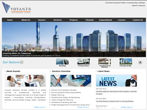 Voyants Solutions Corporate Website Image